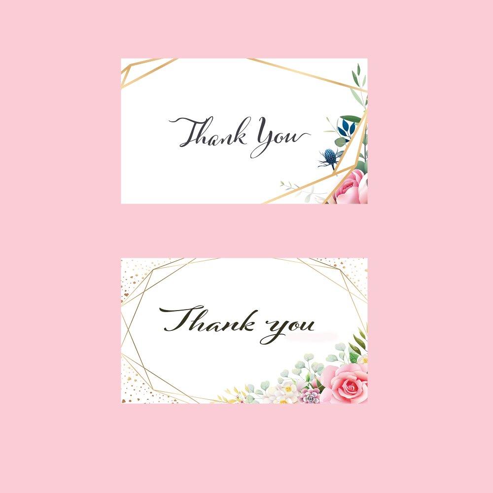Lot De 10 Cartes Merci Thank You Card Carte Remerciement Mariage Anniversaire Bapteme Un Grand Marche