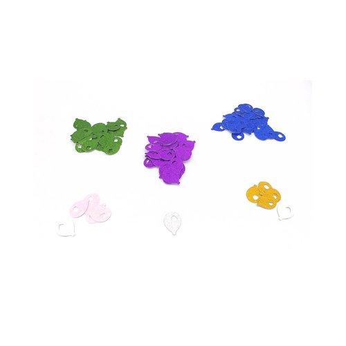 Confettis ballons, confettis de table, de fête, anniversaire, mariage, scrapbooking, confettis papier