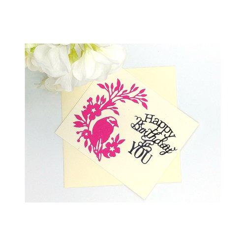 Carte anniversaire femme, birthday card for women, carte anniversaire fait main, cartes de voeux