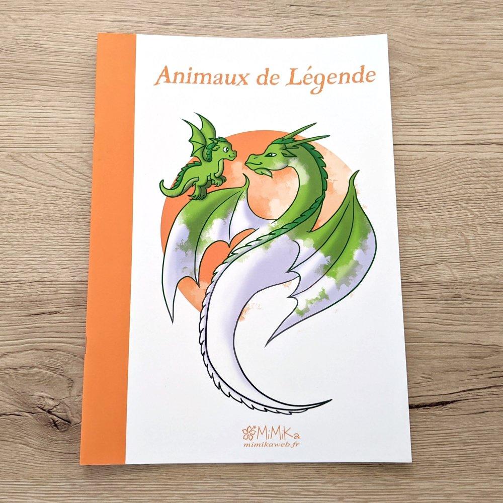 """Coloriage """"Animaux de Légende"""""""