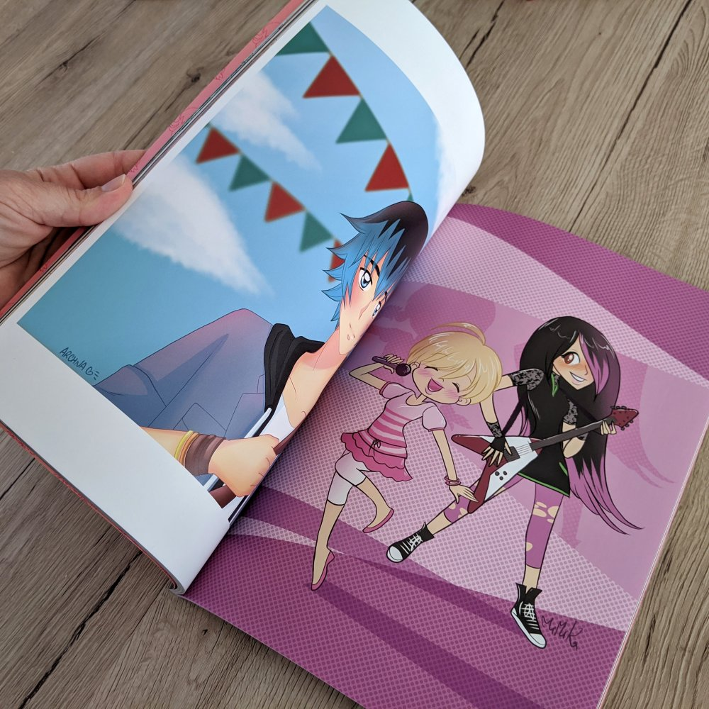 Lucky Charm Fanbook