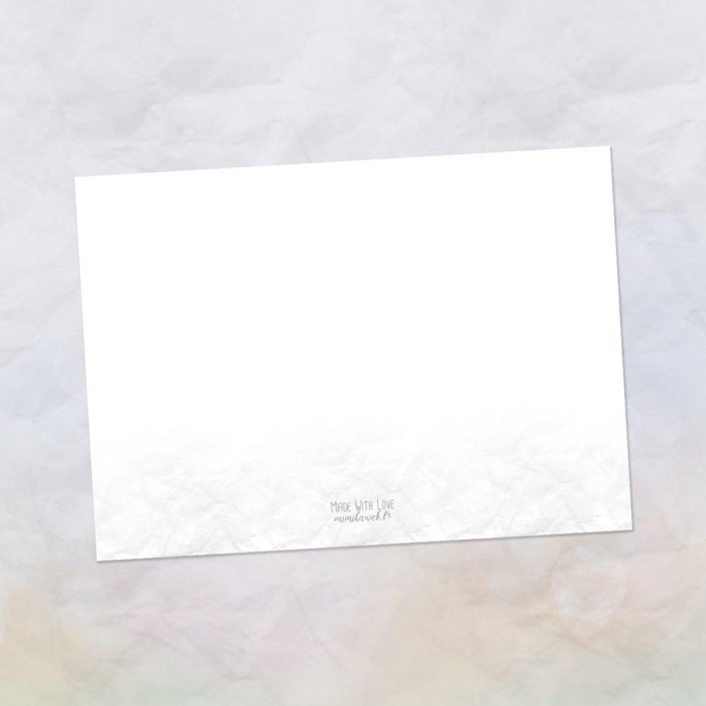 Carte dessin Silverlady Serenity