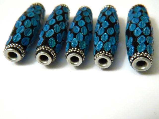 EXCLUSIVITE ! Magnifique perle indonésienne de qualité sequins bleu clair