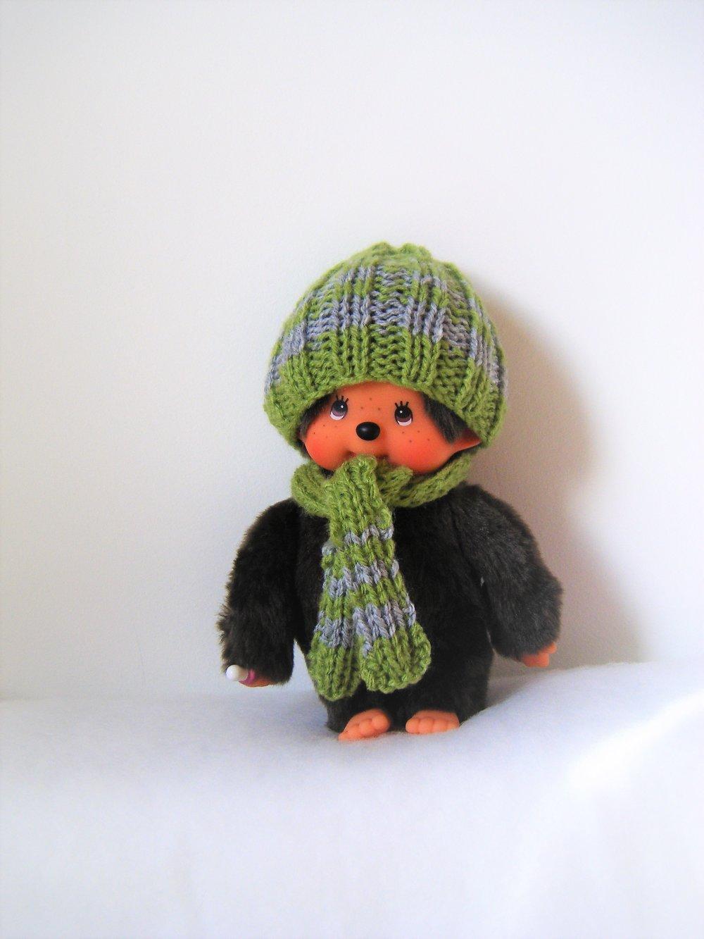vêtements pour kiki/mochhichi vert