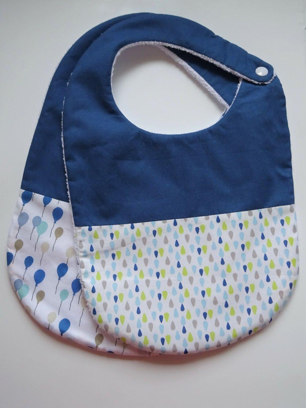 Duo de bavoirs bébé 0-6 ou 9-18 mois