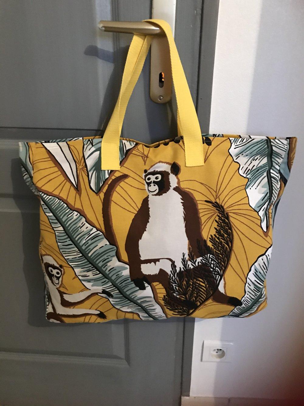 sac shopping ou plage