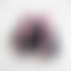 Chaussons , layette naissance 0 - 3 mois , rose et gris bébé fille