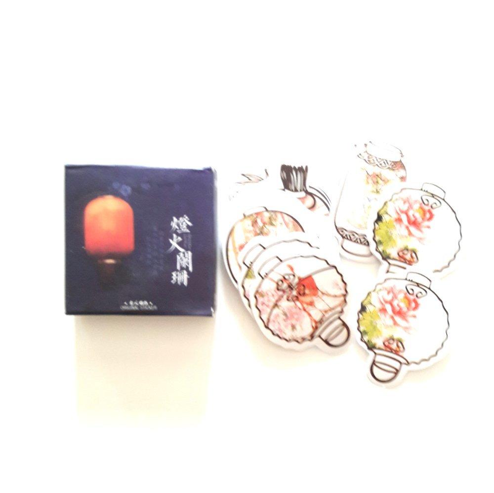 Boîte stickers lanternes  japonaises