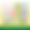 72 images digitales - lama, no drama llama - rond - images cabochons - bijoux