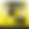 72 images digitales - gilets jaunes - ovale - images cabochons - bijoux