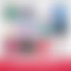 12 images digitales pour badges - 56 + 10 mm - maîtresse