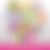72 images digitales - bientôt bébé - rond & ovale - images cabochons - bébé - naissance - parrain - marraine - papy - mamie - bijoux