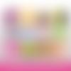 72 images digitales - bientôt bébé  - rond - images cabochons - bébé - naissance - parrain - marraine - papy - mamie - bijoux