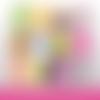 72 images digitales - bientôt bébé  - ovale - images cabochons - bébé - naissance - parrain - marraine - papy - mamie - bijoux