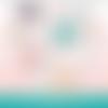 72 images digitales - tête de lama - rond & ovale - images cabochons - bijoux