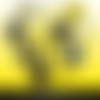 72 images digitales - gilets jaunes - rond & ovale - images cabochons - bijoux