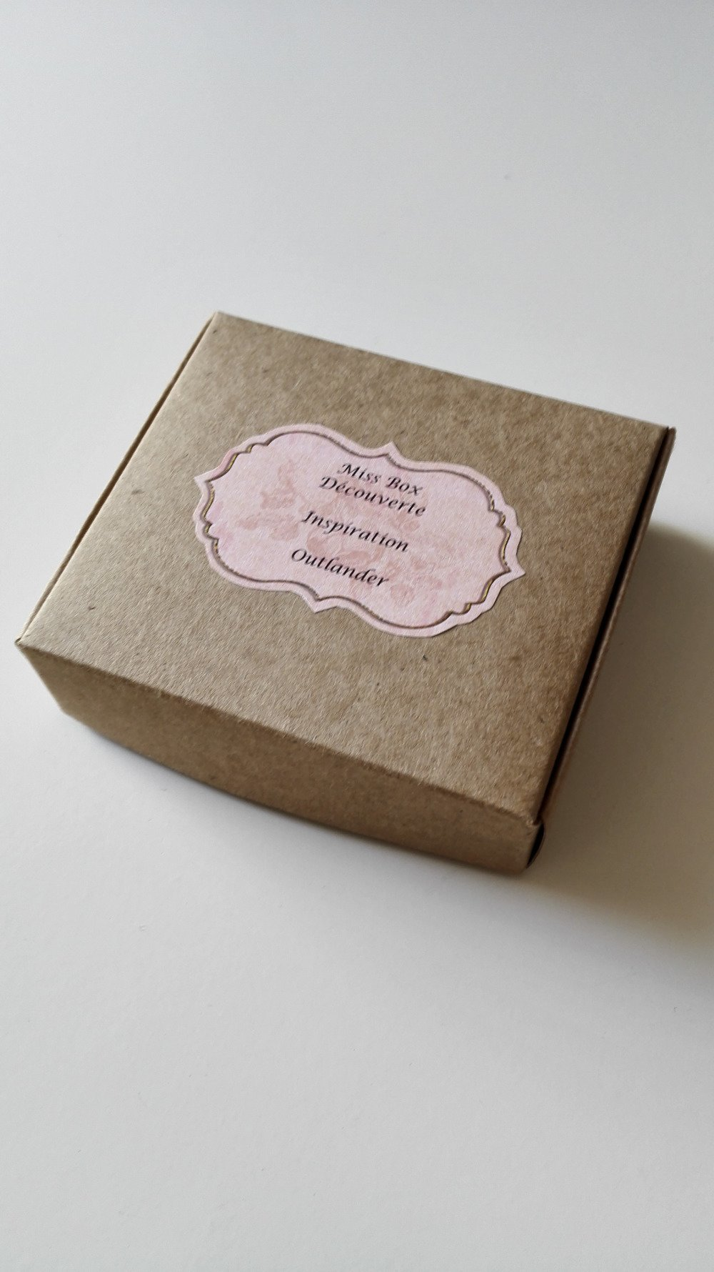 Miss Box Découverte inspiration Outlander argenté surprise féérique idée cadeau Miss Perles