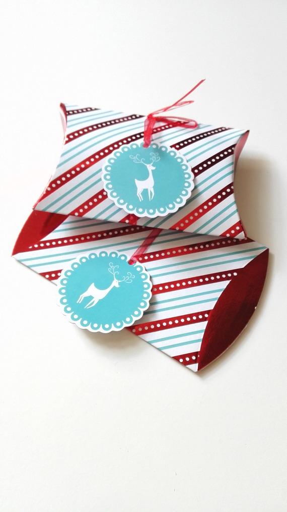 Emballage boite cadeau bijoux H P Expecto Patronum deluxe rouge Noël Fêtes idée cadeau