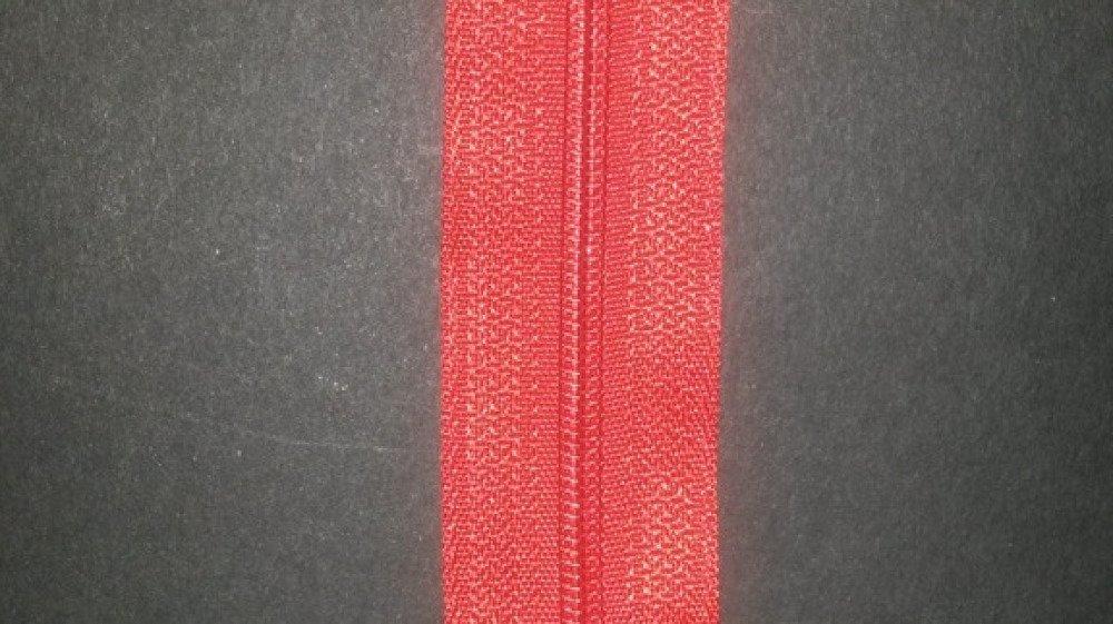 fermeture à glissière  Nylon rouge 30 cm non séparable