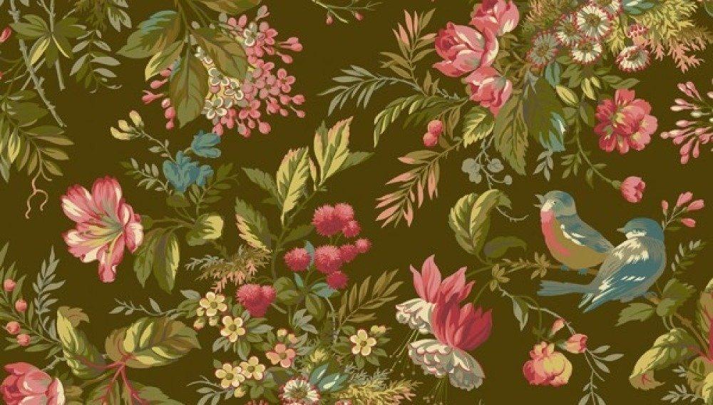 Tissu Coton qualité patchwork - Collection makover edyta sitar, sequoia  25 cm x 110 cm