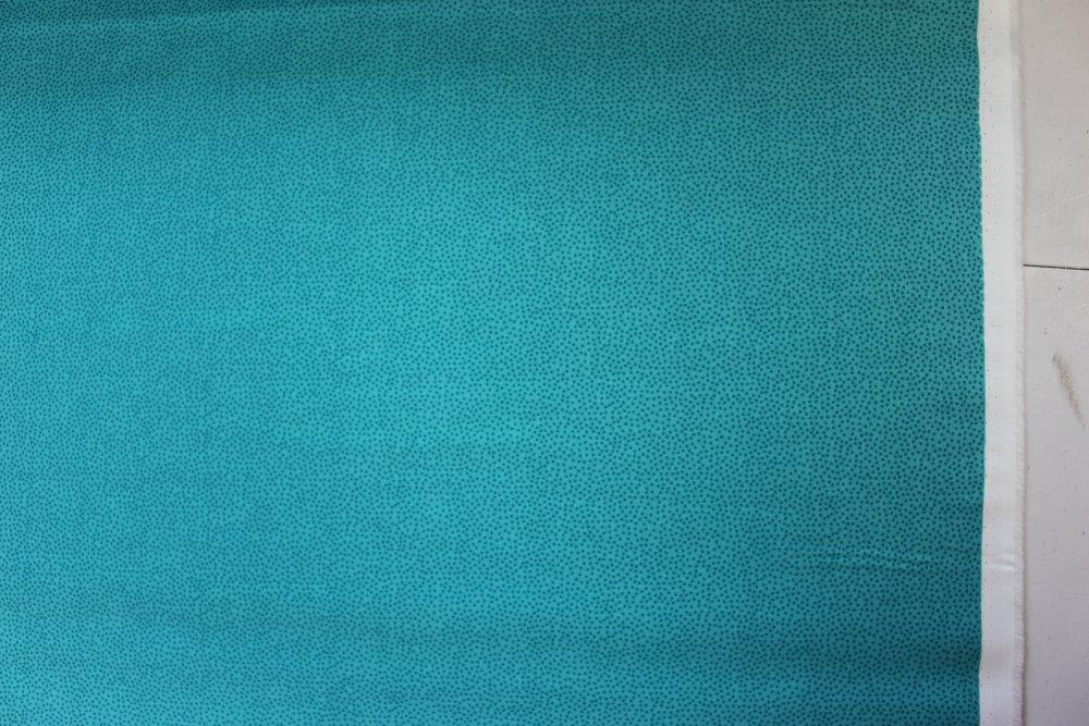 Tissu Coton qualité patchwork - Collection makover UK - Dotty bleu- 25 cm x 110 cm