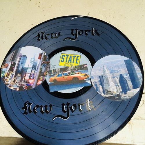 Décoration un jour j'irai à new york