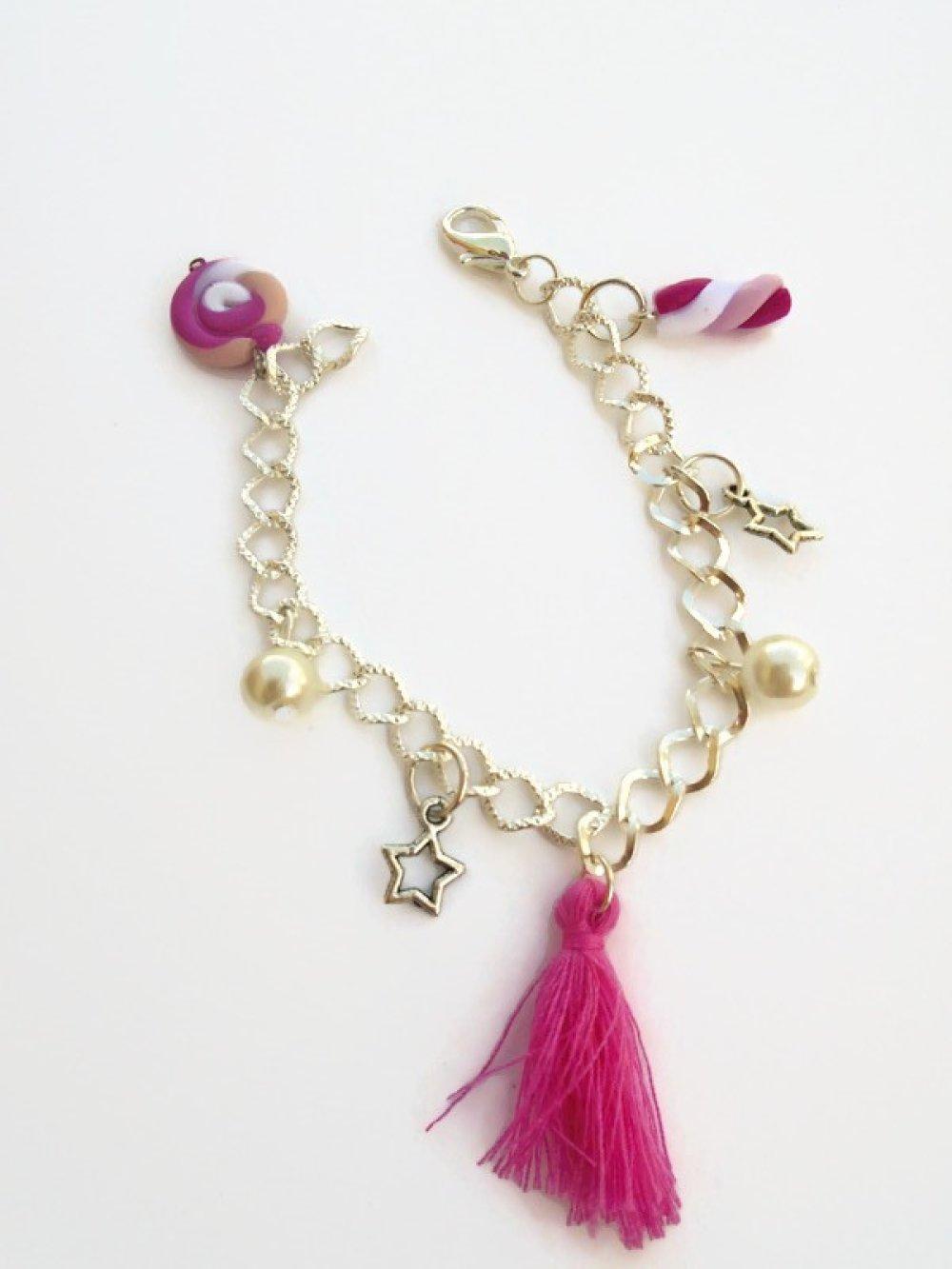 bracelet bonbon fimo