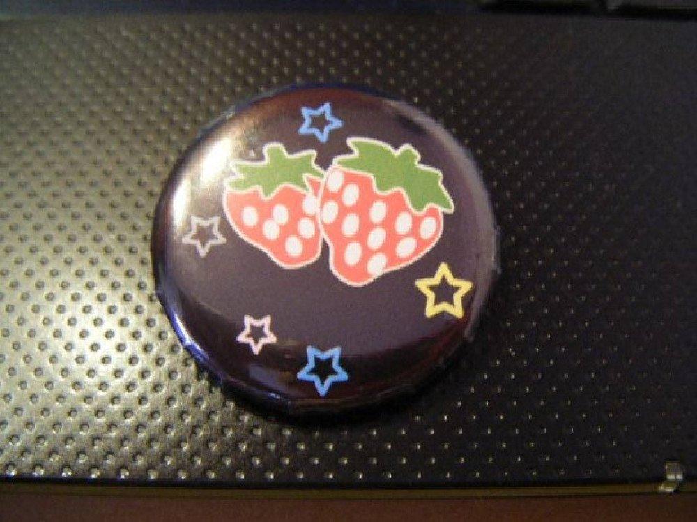 Badge fruit fraise