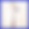 Marque-page pour livre chouette hibou étoile - papeterie