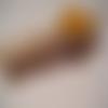 Pince à linge marque page décoration tarte abricot en résine