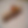 Pince à linge marque page décoration tarte aux fruits en résine