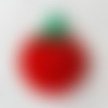 "Tawashi - éponge vaisselle au crochet ""tomate"""