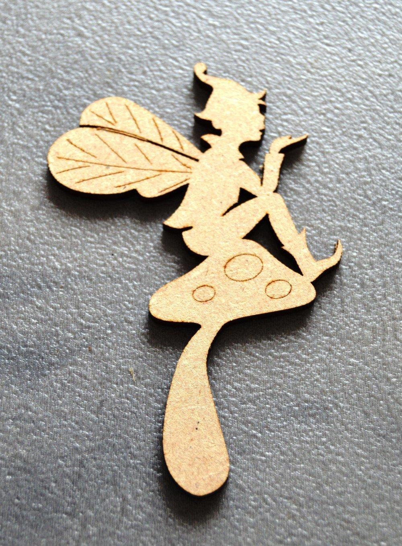 elfes  en médium à décorer