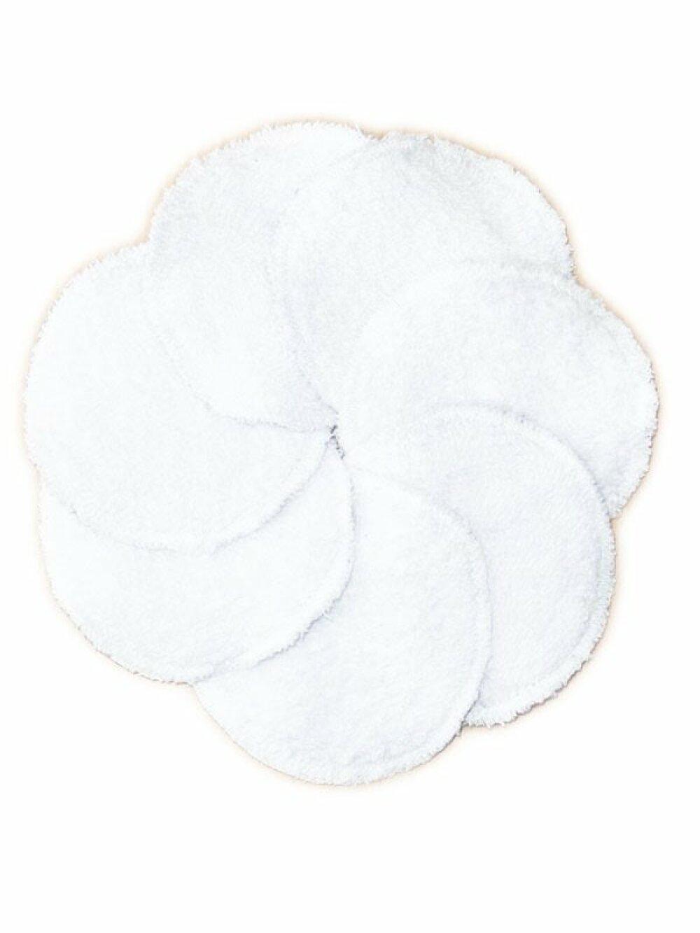 7 Disques démaquillants lavables LA MARINE - Zéro déchet