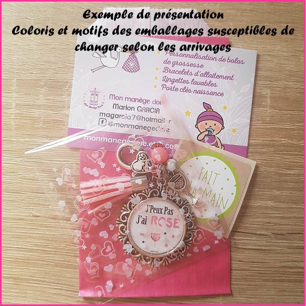 """Porte clés """"J'Peux pas j'ai running"""" / cadeau, anniversaire, running, course à pied"""