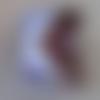 Rouleau de masking tape en tissu - zig zag - cinta impresa - référence 23133