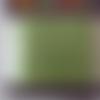 Ruban en velours rasé -  1 mètre de longueur x 1,5 cm de largeur - couleur vert pomme