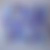 Toile - tissus  pour patchwork - feuilles  - 100 % coton - 45 x 45 cm