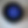 Pot de peinture pochoir pour vitres - glass tattoo - bleu couvrant  - numéro 254