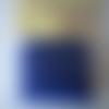 Sachet de perles de rocaille de couleur bleue  nuit - rondes - 2 mm