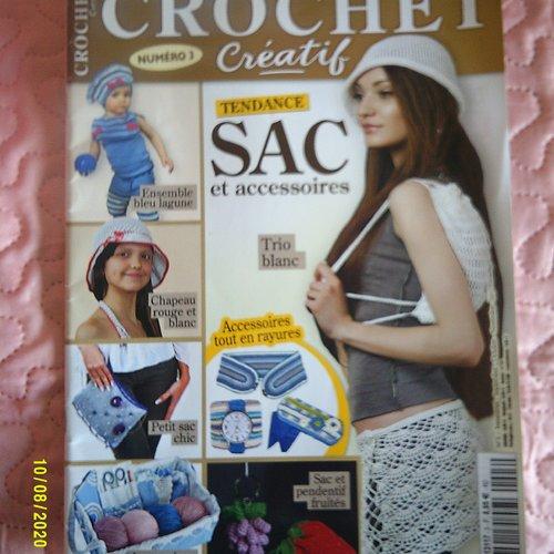 """Magazine """"crochet créatiif - numéro 3 - 30 réalisations exclusives"""