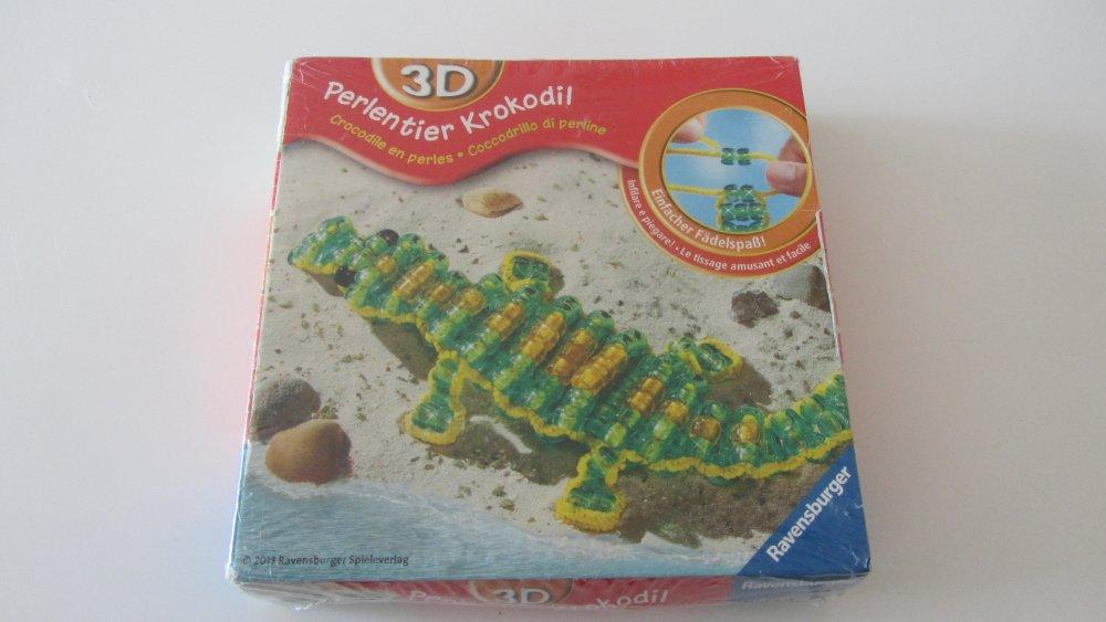 fabrique ton crocodile en perles - 3D - pour les enfants de 6-12 ans