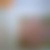 Feuille adhésive prédécoupée à recouvrir avec des sables colorés - 30 cm x 30 cm