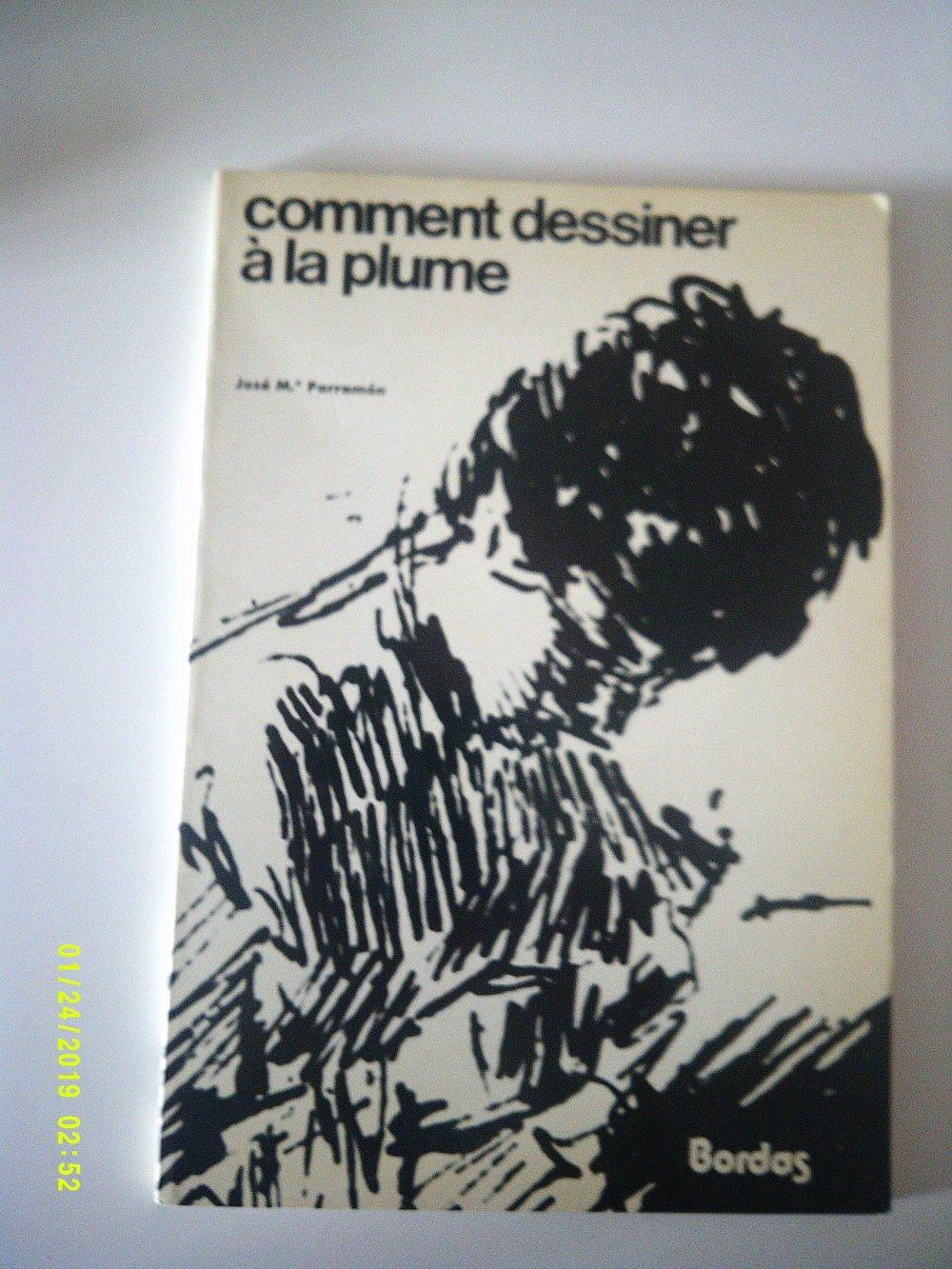 livre Comment dessiner à la plume - Ancien - Editions Bordas