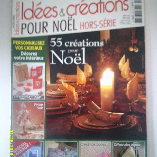Magazine idées et créations pour noël - hors série numéro 2