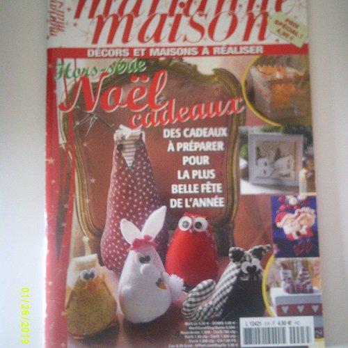 """Magazine """"marianne maison hors série numéro 3"""" - octobre/novembre 2014"""