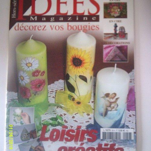 """Magazine """"idées magazine hors série  - numéro 56"""" - date de janvier 2007"""