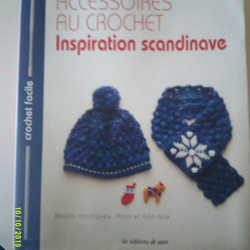 """Livre """"accessoires au crochet - inspiration scandinave"""""""