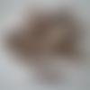 Lot de 12 épingles, pinces à linge en bois couleur chocolat - 3,5 cm
