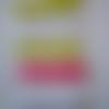 Lot de 6 mots en bois - bon appétit  - artifêtes - créativ' déco - 7,5 cm x 2 cm